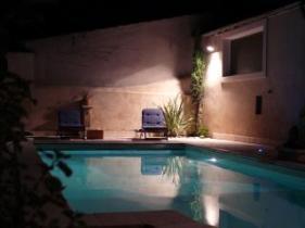 Montelimar - Pool at night