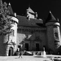 Ardeche - Castle in Aubenas
